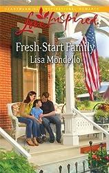 Fresh-Start Family (Love Inspired) by Lisa Mondello (2010-10-01)