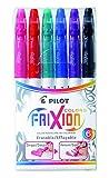 Pilot 4144S6 Fasermaler FriXion Colors, löschbar, 6-er Set