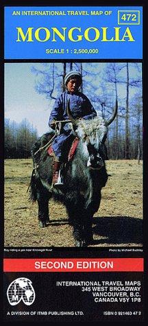 mongolie. 1/250 000 par International Travel Maps