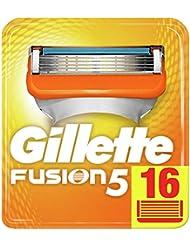 Gillette Fusion5 Lames De Rasoir Pour Homme - 16 Recharges