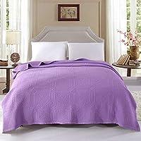 alicemall couverture couvre lit dessus de lit matelass 200x230 courtepointe boutis jet de lit 2 - Couvre Lit Violet