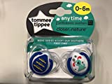 Tommee Tippee Closer To Nature: 2 x Schnuller 0-6m (Blau)
