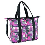 Hot Tuna Photoprint Strandtasche pink Summer Angeltasche, blau