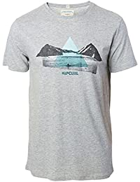 Rip Curl Maria Tee, Man Color: Cement Marle