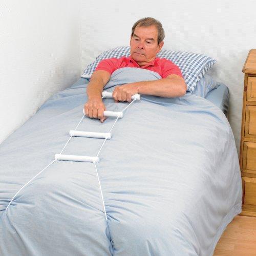 5177UmqAGoL - Patterson Medical escalera de soga Grúa Cama - Ayuda sentado en la cama