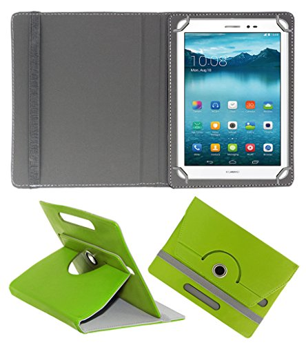Acm Rotating 360° Leather Flip Case For Huawei Honor T1 Tablet Cover Stand Green  available at amazon for Rs.159