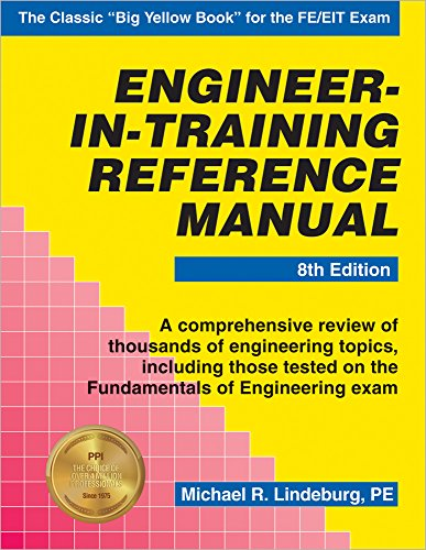 Engineer-in-Training Reference Manual (Engineer In Training)