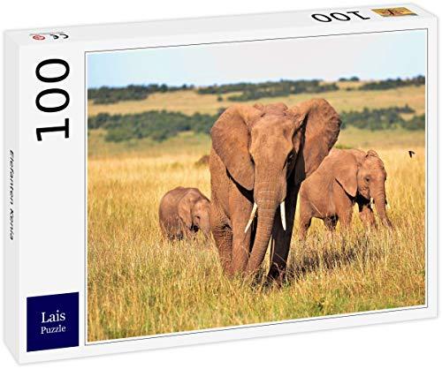 Lais Puzzle Elefantes Kenia 100 Piezas