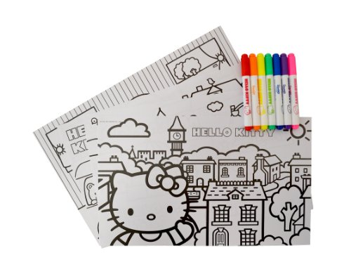 Image of Hello Kitty Colouring and Activity Set