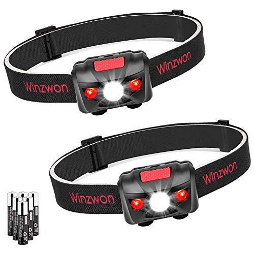 Winzwon LED Stirnlampe LED Kopflampe LED Stirnlampen