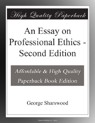 essays on advertising and ethics Paper-3 advertising ethics & laws lesson 1- advertising ethics, social responsibility and self regulation lesson 2- regulations, ethics, consumer organization, voluntary control.
