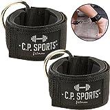 C.P.Sports Hand- und Fußschlaufe Komfort 1 Paar/2 Stück für Kabel und Seilzugstationen