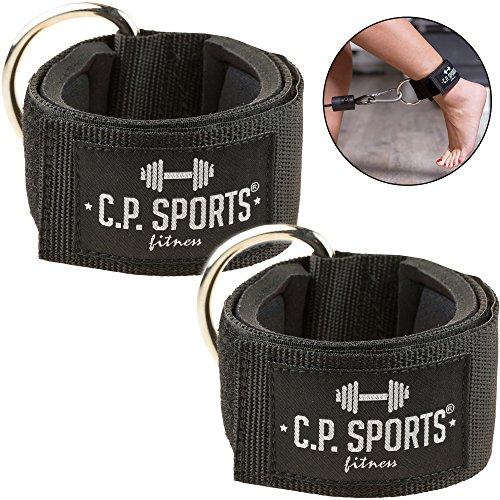 C.P. Sports Hand- und Fußschlaufe Komfort 1 Paar / 2 Stück für Kabel und Seilzugstationen
