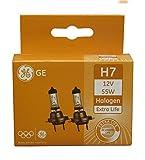 GE General Electric H7 12V 55W Halogen Extra Life...