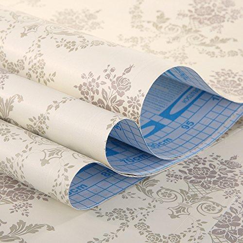 Zhzhco Selbstklebende Pvc-Wallpaper Wallpaper-Stil, 10 Meter Lange