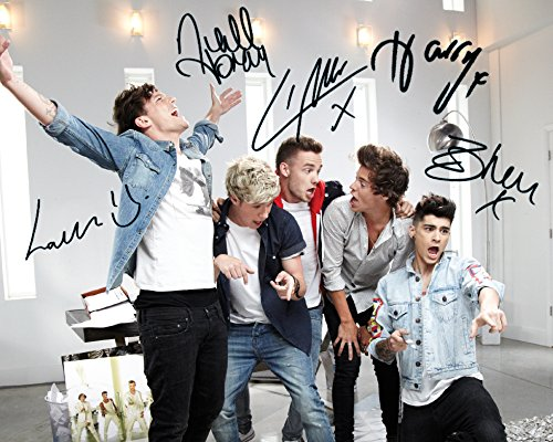 one-direction2-10-x-8-photo-avec-autographe-de-laboratoire-de-qualite-superieure