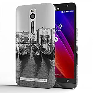 Koveru Designer Printed Protective Snap-On Durable Plastic Back Shell Case Cover for Asus Zenfone 2 - Paint Pattern