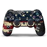 Juego de skin para un mando, diseño de Battle Torn Stripes [PlayStation 4]