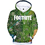 Fashion fortnite plat tops 3D printed sweatshirt unisex loose trend Hoodies