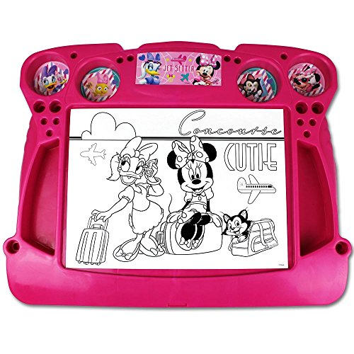 Disney Maltisch - Maltafel - Kinder Malset - Activity Desk mit Motivauswahl (Activity Desk Minnie Mouse)
