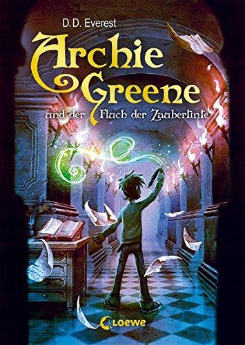 Buchcover Archie Greene und der Fluch der Zaubertinte: Band 2