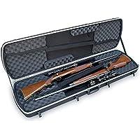 SKB Reisekoffer Hunter Serie Transport für Zwei Gewehre - Funda rígida para rifles de caza, color negro, talla 124.5 x 33.0 x 15.2 cm