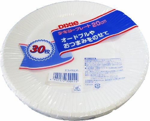 dixie-econo-usura-piatto-di-carta-20-centimetri-30p-giappone-import-il-pacchetto-e-il-manuale-sono-s
