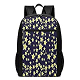 TRFashion Sac à Dos So Many Stars 17 inch College Laptop Notebook Bag Backpack...
