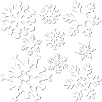 A Beistle Creation Expedition Norway Die-Cut Snowflakes Set of 9