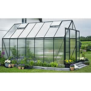 Juliana Halls Magnum 148Greenhouse with 6mm Double Plate 11.5M² Green