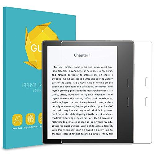Fintie Kindle Oasis 2017 Folie Panzerglas - [9H Härtegrad] Premium HD klar [stark kratzfest] Hartglas Panzerglas Displayschutzfolie Glasfolie für Amazon Kindle Oasis (9. Generation - 2017 Modell)