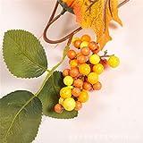 LYFWL Weihnachtsschmuck Sunflower Maple Leaf Bar Rattan Mall Hotel Ktv Hause Kamin Dekoration Grün Rattan 1,8M Hochzeit Kranz Hängen Vergleich