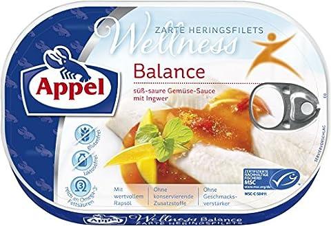 Appel Heringsfilets Wellness Balance, Gluten- und Laktosefrei, MSC zertifiziert, 10er Pack (10 x 200 (Gluten Laktosefrei)