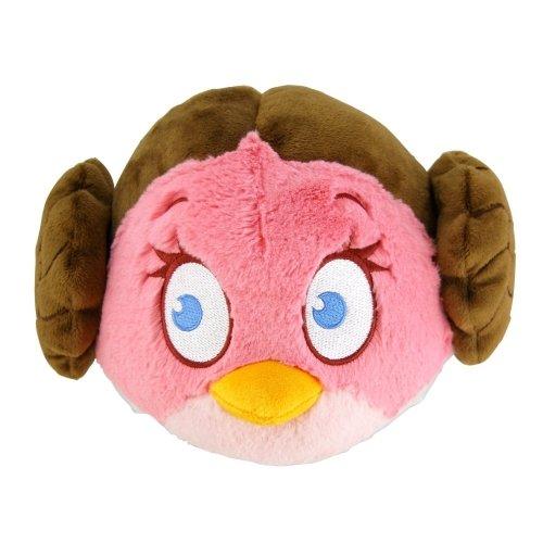 Angry Birds Star Wars Prinzessin Leia Plüschfigur 15 cm Plüsch Stofftier Beanie (Plüsch Birds Wars Star Angry)
