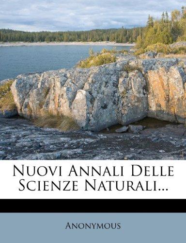 Nuovi Annali Delle Scienze Naturali...