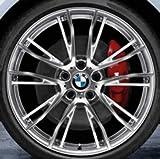 Original BMW Alufelge 2er F22 M Doppelspeiche 624 Poliert in 19 Zoll für hinten