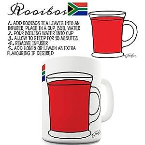 Tasse à café humoristique Tea Recipe Rooibos Tea Tasse Tasse en céramique