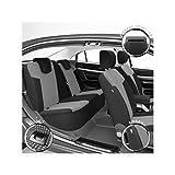 DBS 1012948 Housse de siège Auto/Voiture - Sur Mesure - Finition Haut de Gamme - Montage Rapide - Compatible Airbag - Isofix
