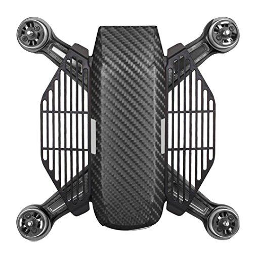 Für DJI Spark Drone Zubehör , Ouneed 2 Stück Drone Fans Handschutz Finger Palm Board Zaun Beschützer für DJI SPARK Drone (Schwarz)
