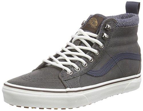 Vans Sk8-hi Mte, Unisex-Erwachsene Hohe Sneakers, Grau (mte/charcoal/herringbone), 38.5 EU