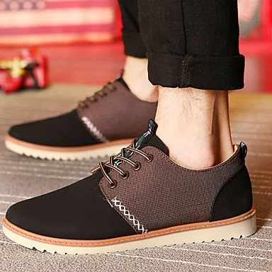 Hot Sale Men's Shoes Office & Carrière / Athletic Casual Oxford / noir / bleu / jaune / gris Blue