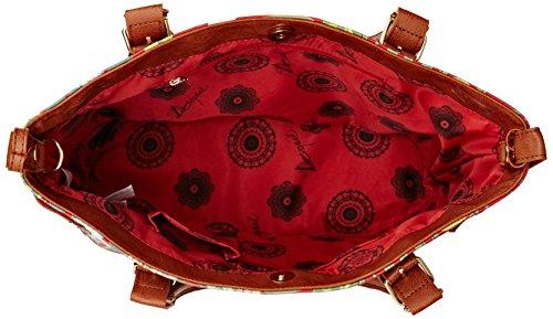 DesigualSaint Tropez Urban Jungle - Borsa a tracolla donna Rosso (Red (Carmin))