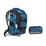 Satch Pack by Ergobag - 2tlg. Set Schulrucksack - Blue