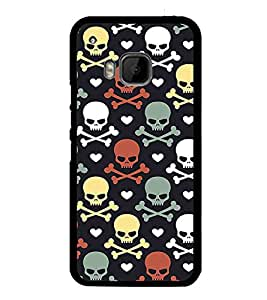 PrintVisa Designer Back Case Cover for HTC One M9 :: HTC One M9S :: HTC M9 (casual limitles lingires combo western)