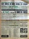 lettres francaises les no 382 du 04 10 1951 votre rendez vous d octobre le 13 au palais d orsay vente annuelle du comite national des ecrivains dans le roman 1951 l amour est il encore l amour par martine monod weill halle et pierre paraf vous