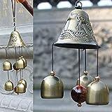 Paradigm Originals Big Metal Dragon 6 Bell Windchime for Home Positivity Hangings Good