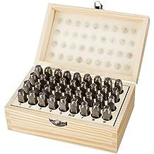 AmazonBasics Kit de poinçons en métal et en cuir, 7,87mm