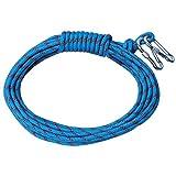 partiss 12mm Durchmesser Outdoors Climbing Flucht Sicherheit Seil, blau und rot