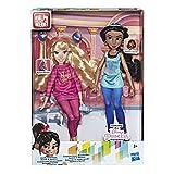 Disney Prinzessinnen Comfy Squad Jasmine und Aurora, Puppen zum Film Chaos im Netz mit...