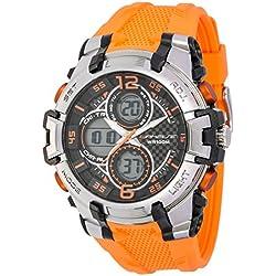 UPhasE UP704-187 Unisex Quartz Chronograph Digital-Analogue Watch